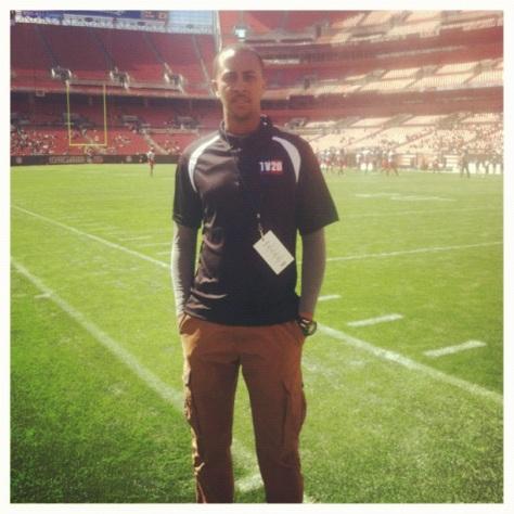 Sports Reporter Christian Patterson
