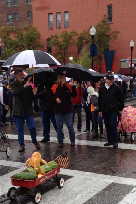Mayor Jackson, Councilman Joe Cimperman and family