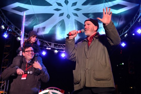 Council President Martin J. Sweeney and Councilman Joe Cimperman at the Annual Tree Lighting in Public Square!