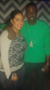Ciarra Nelson and Lance Gross
