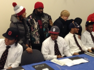 Devine Redding, Glenville running back headed to the University of Indiana.