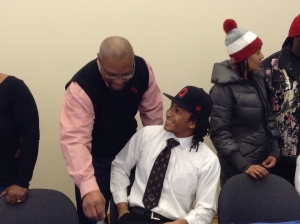 Erick Smith, Glenville Defensive Back headed to The Ohio State University.