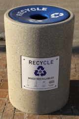 Recycling Bins Installed in Downtown Cleveland