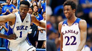 Jabari Parker and Andrew Wiggins